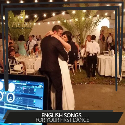 English songs for your first dance