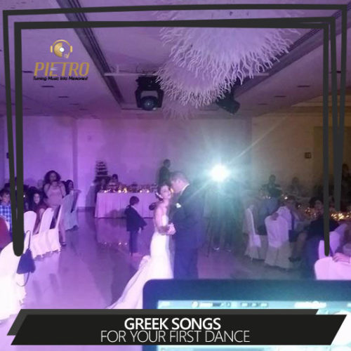 Greek songs for your first dance
